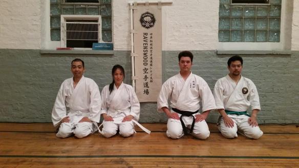 L-R: Ryan Suda, Traci Kato-Kiriyama, Erik Matsunaga, Ryan Yokota