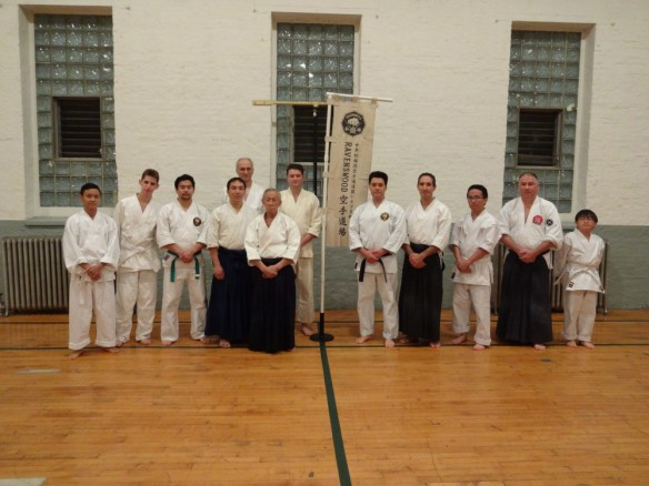 Joe Takehara and Chicago Aikido Club at Ravenswood Shorin-ryu Karate Dojo.