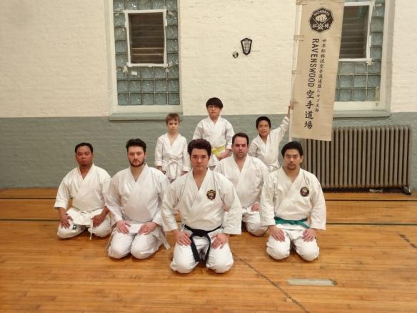 Ravenswood Shorin-ryu Karate Dojo. 12/15/14.